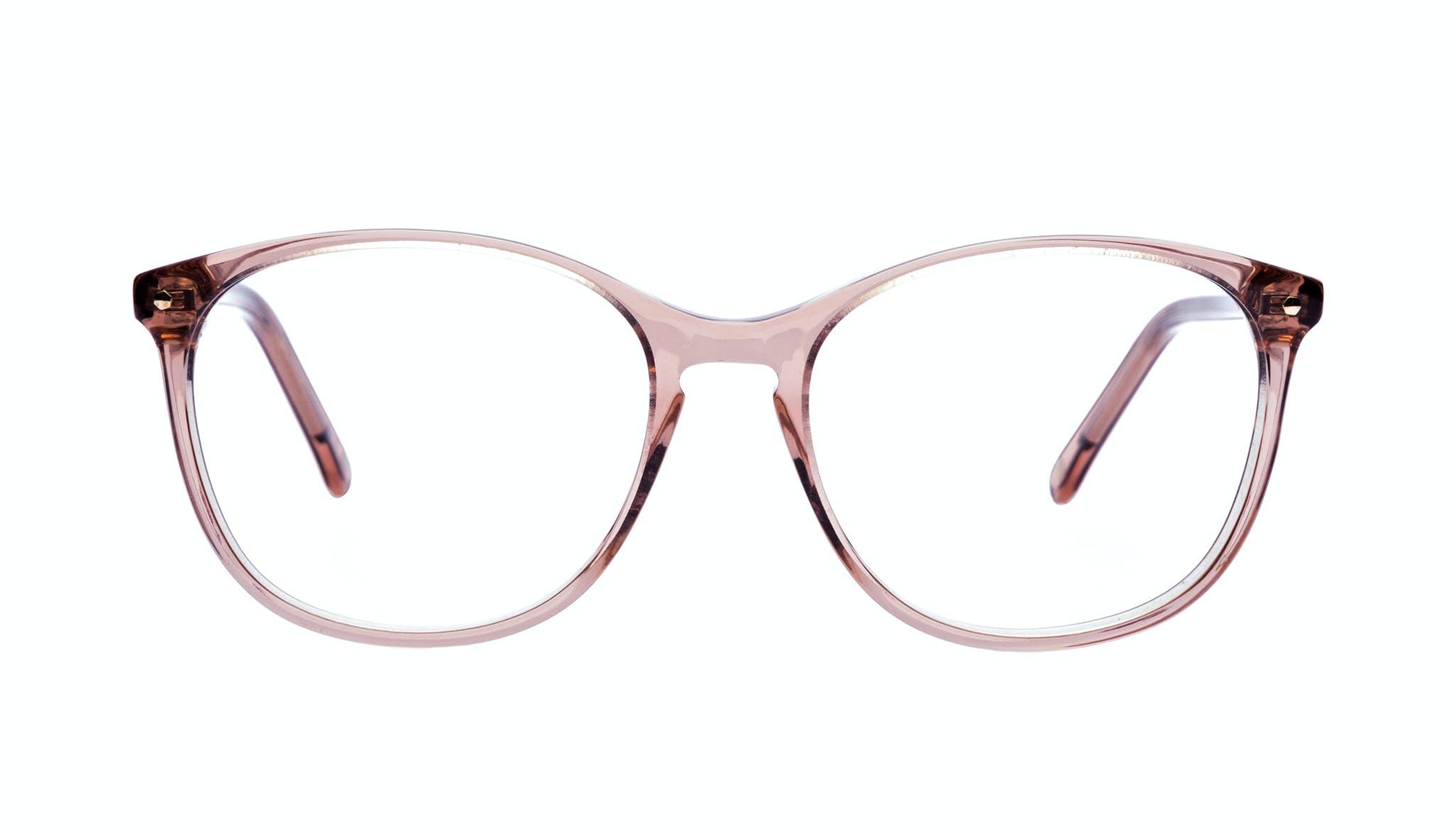 Lunettes tendance Rectangle Carrée Ronde Lunettes de vue Femmes Nadine Rose