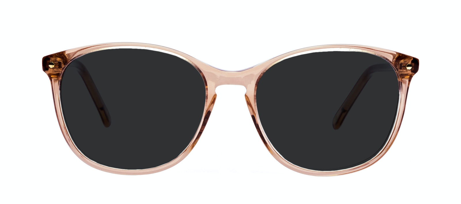 Affordable Fashion Glasses Round Sunglasses Women Versa Rose Front