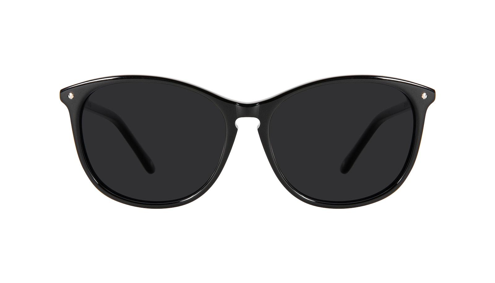 Lunettes tendance Ronde Lunettes de soleil Femmes Nadine Petite Pitch Black