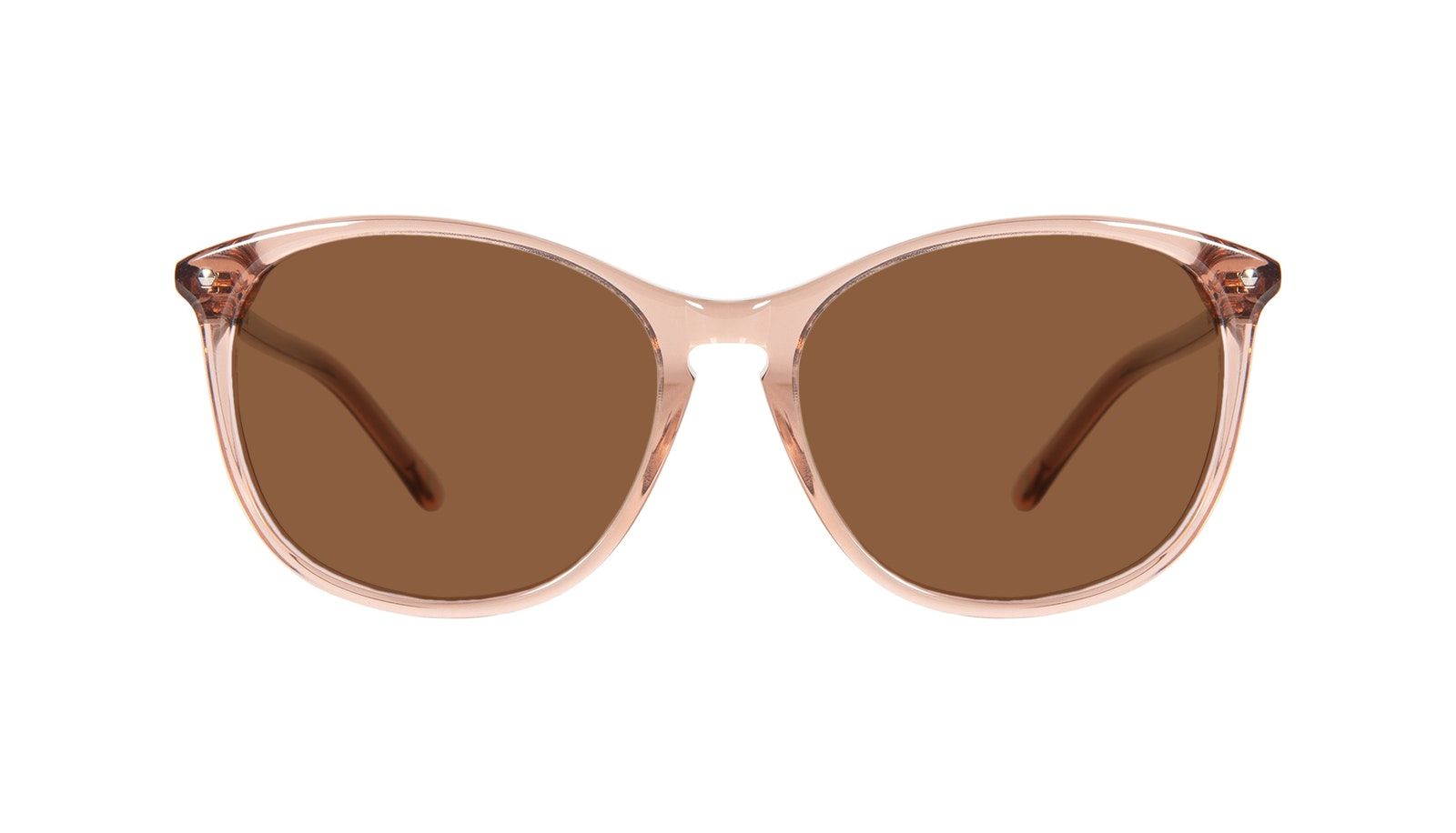 Affordable Fashion Glasses Round Sunglasses Women Nadine Petite Rose