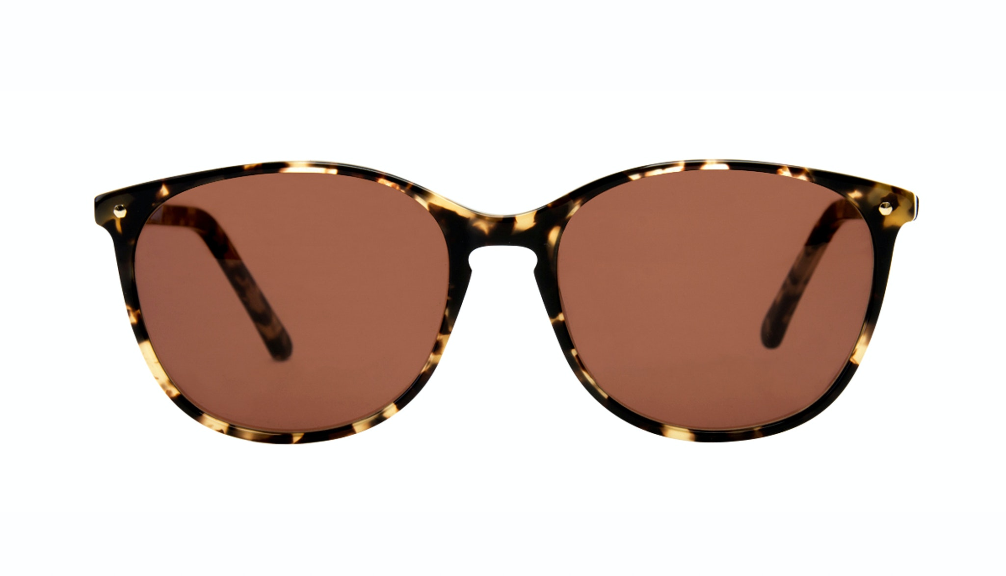 Affordable Fashion Glasses Rectangle Square Round Sunglasses Women Nadine Bingal Front