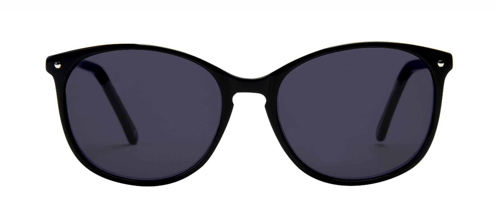 cf969d368d Affordable Fashion Glasses Rectangle Square Round Sunglasses Women Nadine  Pitch Black Front