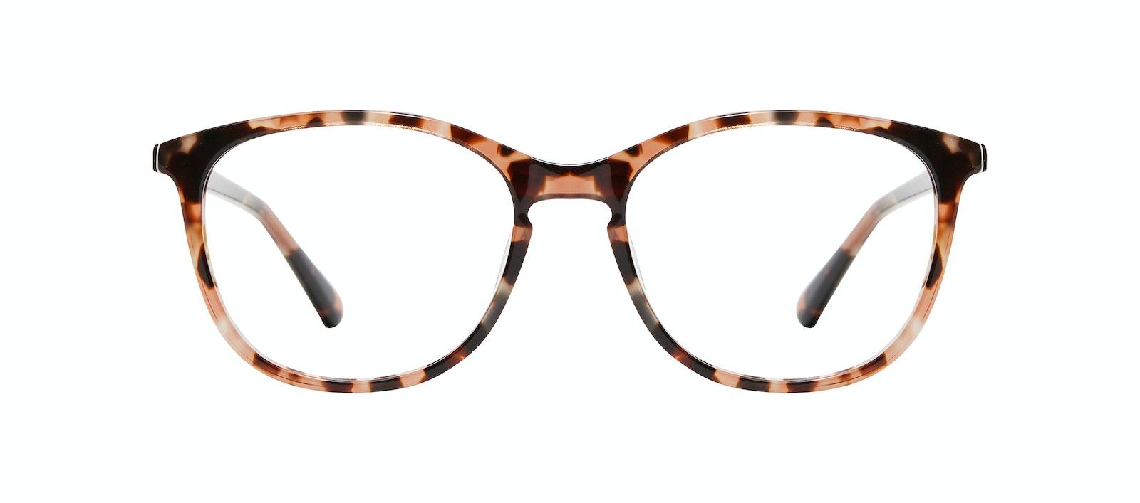 Affordable Fashion Glasses Rectangle Square Round Eyeglasses Women Nadine S Pink Tortoise Front