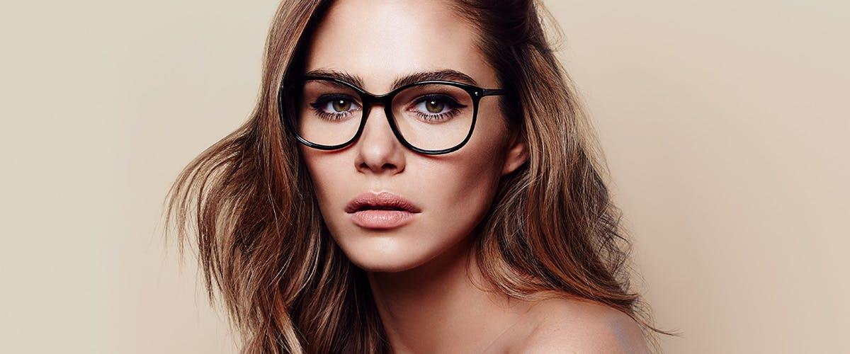 Affordable Fashion Glasses Rectangle Square Round Eyeglasses Women Nadine Pitch Black