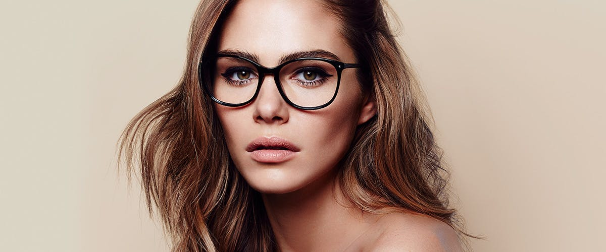 Affordable Fashion Glasses Rectangle Square Round Eyeglasses Women Nadine Pitch Black