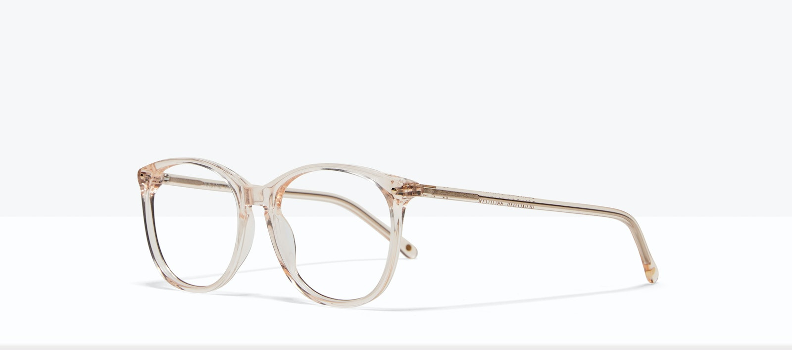 Affordable Fashion Glasses Rectangle Square Round Eyeglasses Women Nadine Prosecco Tilt
