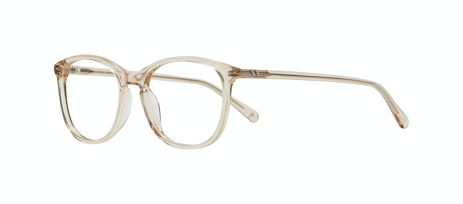 Affordable Fashion Glasses Rectangle Square Round Eyeglasses Women Nadine M Prosecco Tilt