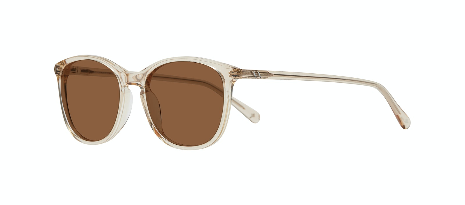 Affordable Fashion Glasses Rectangle Square Round Sunglasses Women Nadine M Prosecco Tilt