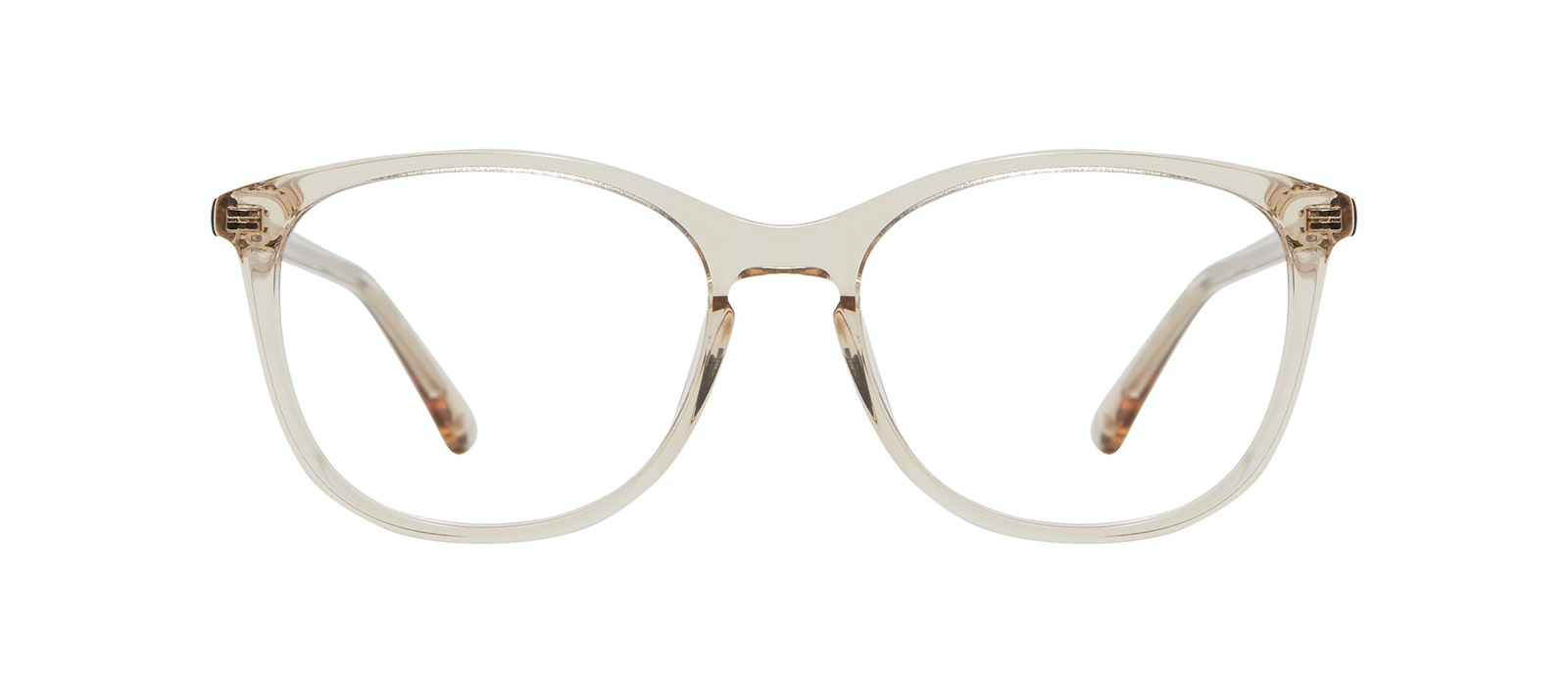 Affordable Fashion Glasses Rectangle Square Round Eyeglasses Women Nadine S Prosecco Front