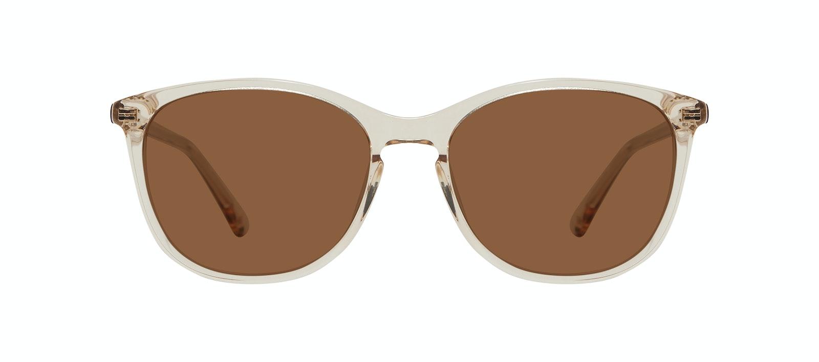 Affordable Fashion Glasses Rectangle Square Round Sunglasses Women Nadine S Prosecco Front