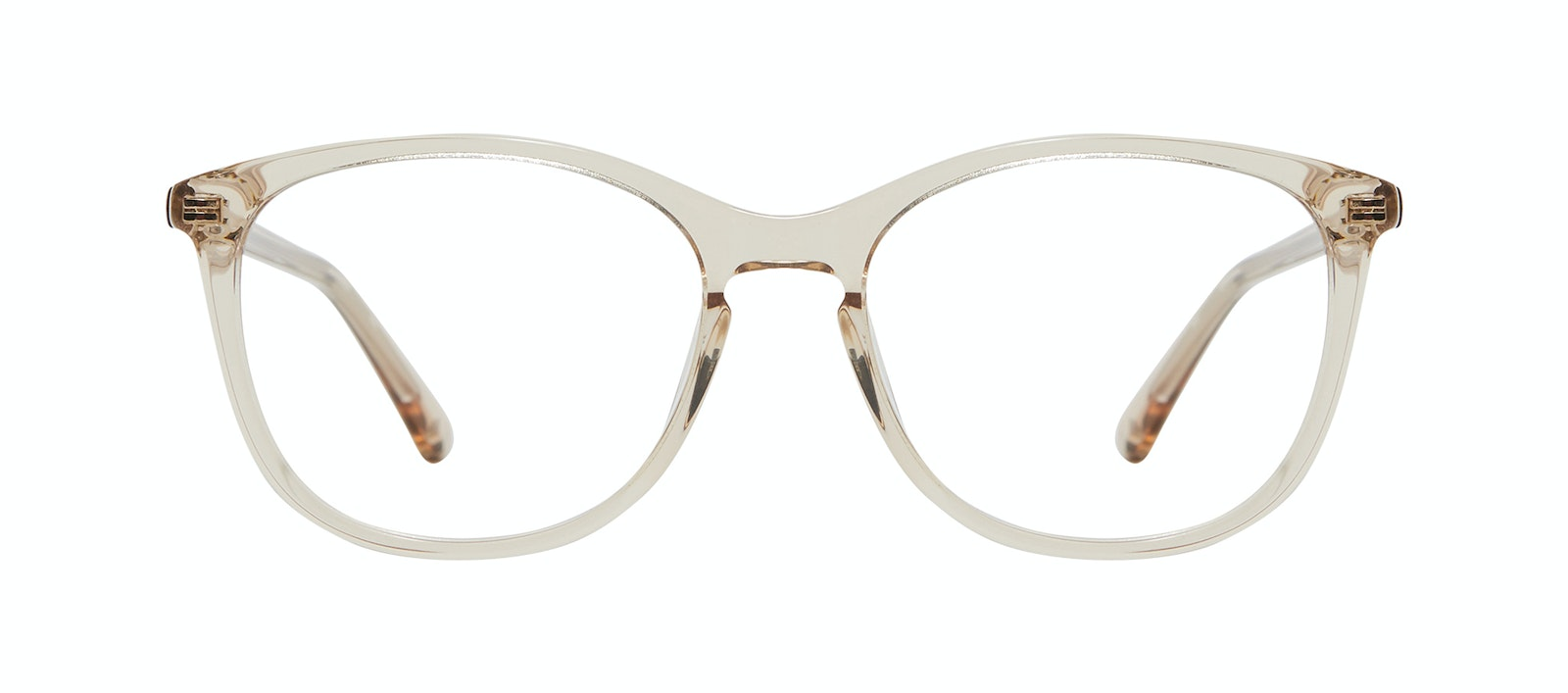 Affordable Fashion Glasses Rectangle Square Round Eyeglasses Women Nadine XL Prosecco Front