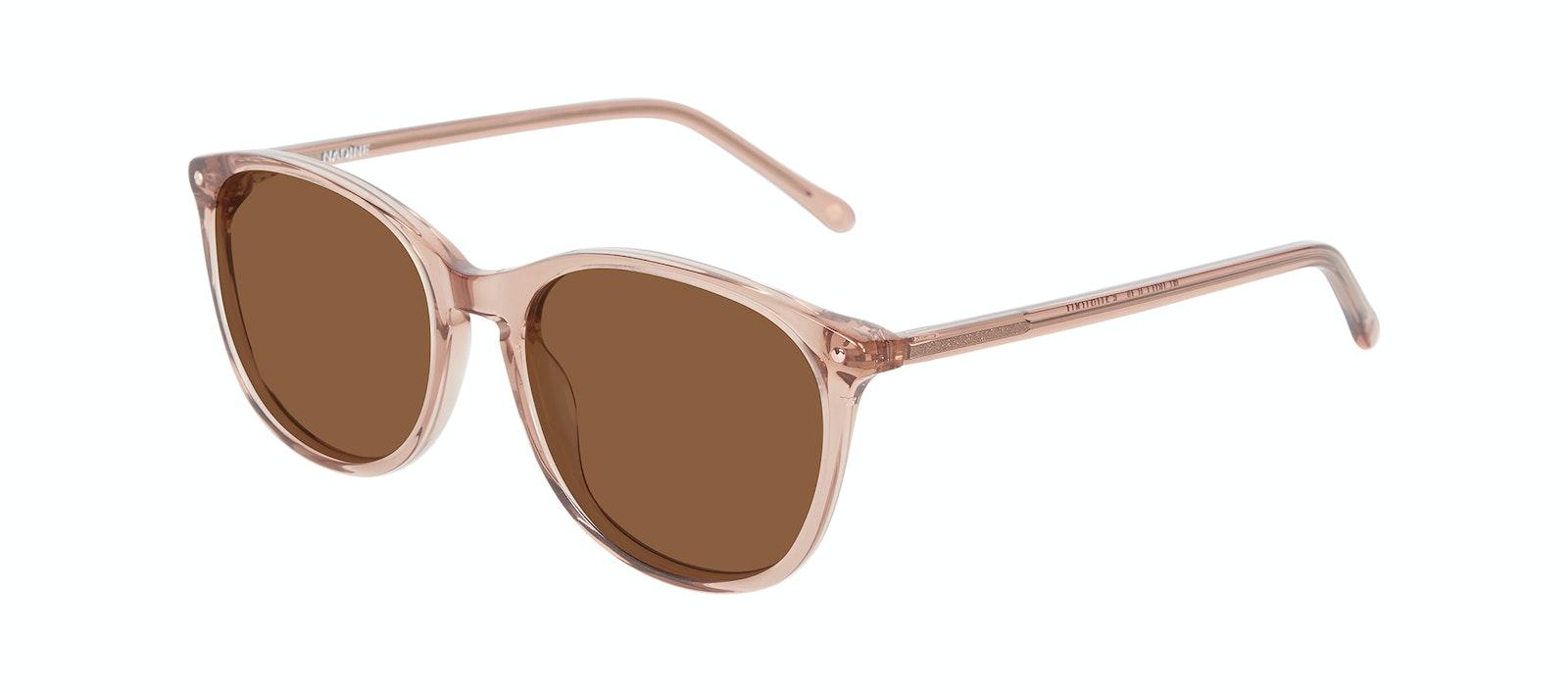 Affordable Fashion Glasses Rectangle Square Round Sunglasses Women Nadine Rose Tilt