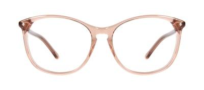 Affordable Fashion Glasses Round Eyeglasses Women Versa Rose Front