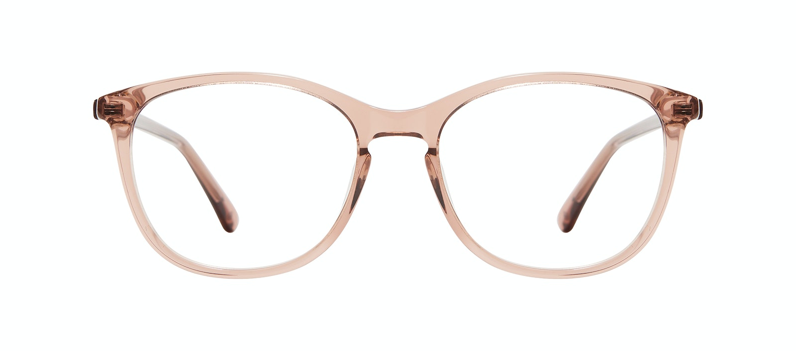 Affordable Fashion Glasses Rectangle Square Round Eyeglasses Women Nadine M Rose Front