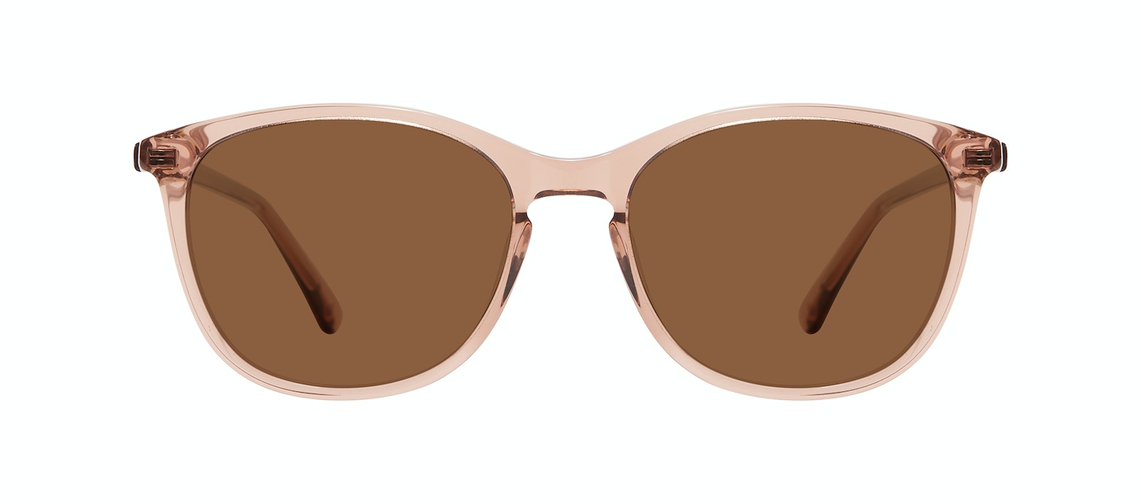 Affordable Fashion Glasses Rectangle Square Round Sunglasses Women Nadine M Rose Front