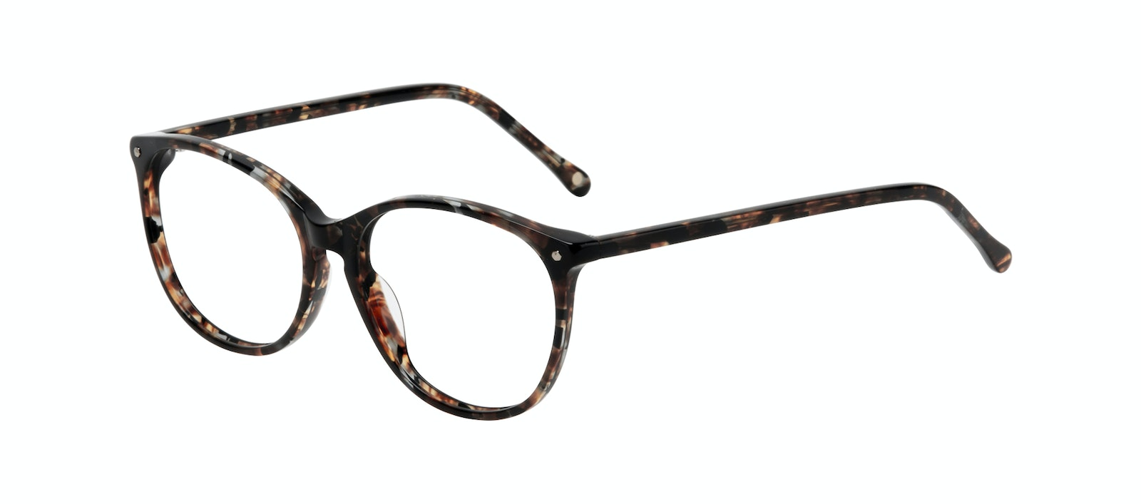 Affordable Fashion Glasses Rectangle Square Round Eyeglasses Women Nadine Sepia Tilt