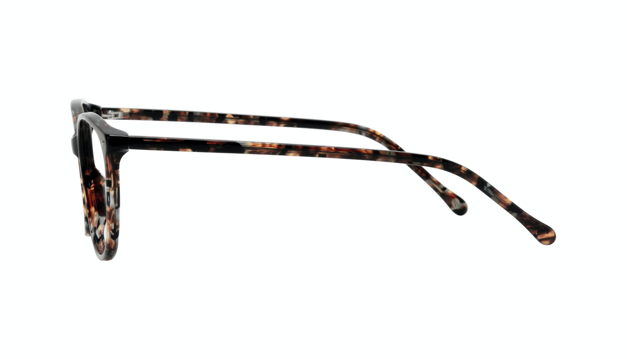 Affordable Fashion Glasses Rectangle Square Round Eyeglasses Women Nadine Sepia Side