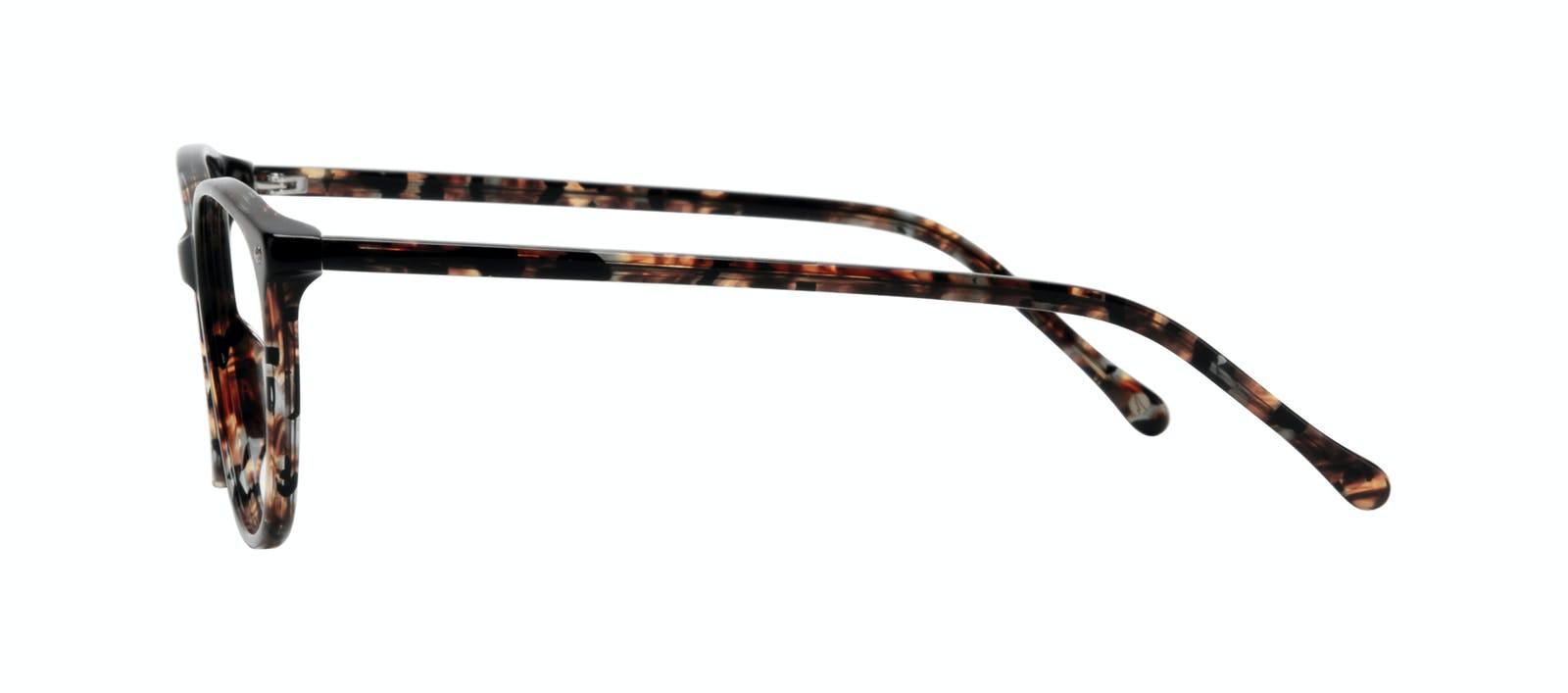 a45d8243190 Affordable Fashion Glasses Rectangle Square Round Eyeglasses Women Nadine  Sepia Side