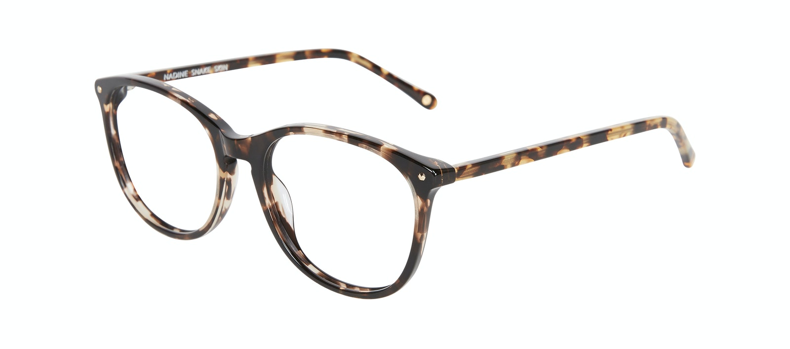 Affordable Fashion Glasses Rectangle Square Round Eyeglasses Women Nadine Snake Skin Tilt