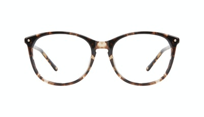 Affordable Fashion Glasses Rectangle Square Round Eyeglasses Women Nadine Snake Skin Front
