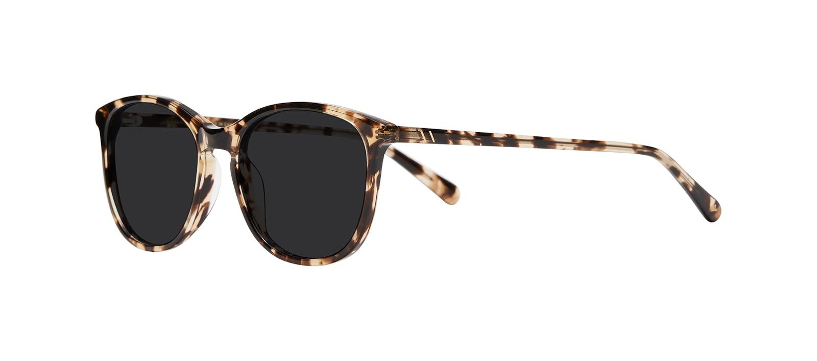 Affordable Fashion Glasses Rectangle Square Round Sunglasses Women Nadine M Snake Skin Tilt
