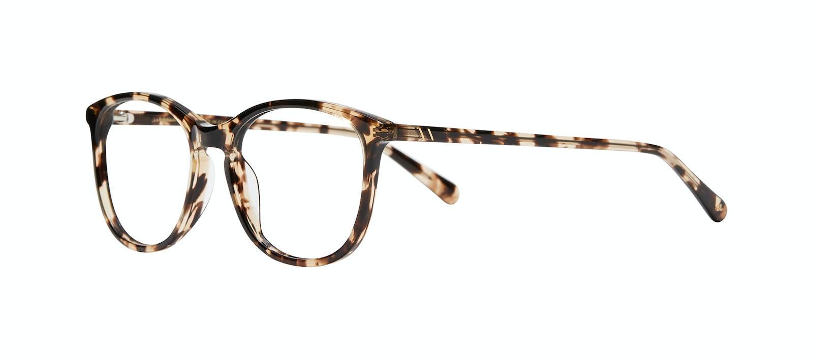 Affordable Fashion Glasses Rectangle Square Round Eyeglasses Women Nadine XL Snake Skin Tilt
