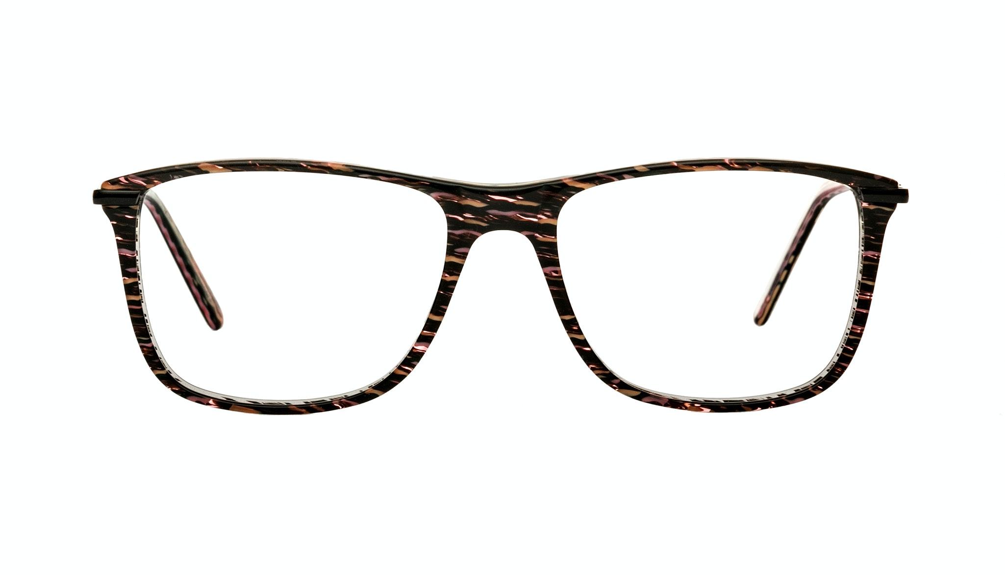 Affordable Fashion Glasses Rectangle Eyeglasses Women Nany Volcano Front