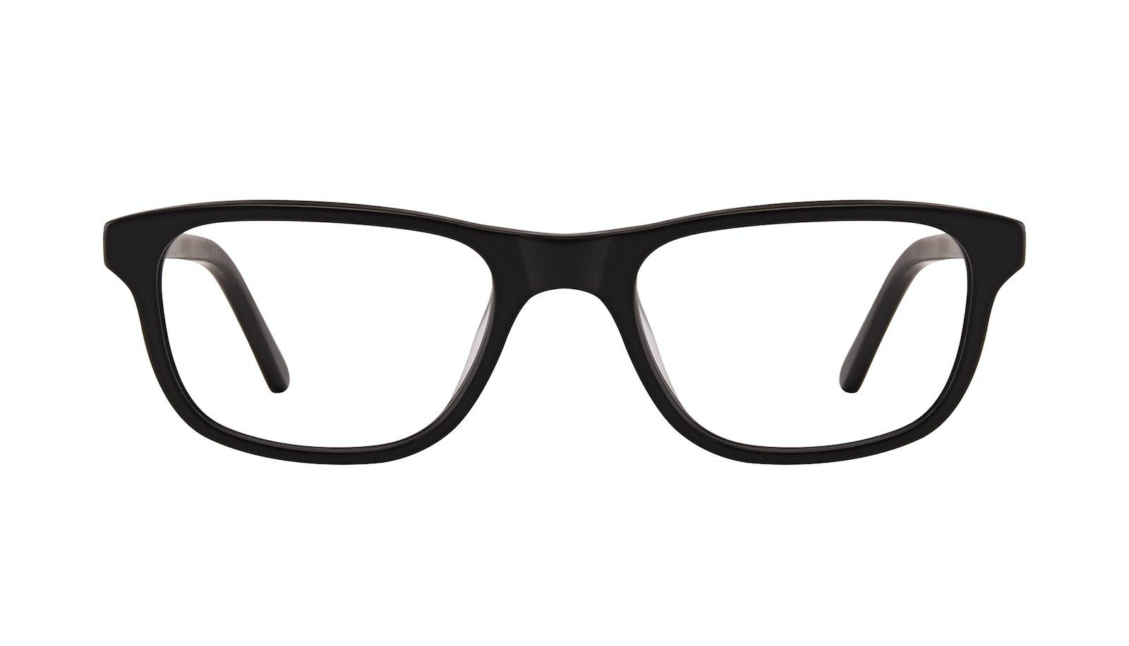 Affordable Fashion Glasses Rectangle Eyeglasses Men Neat Matte Black