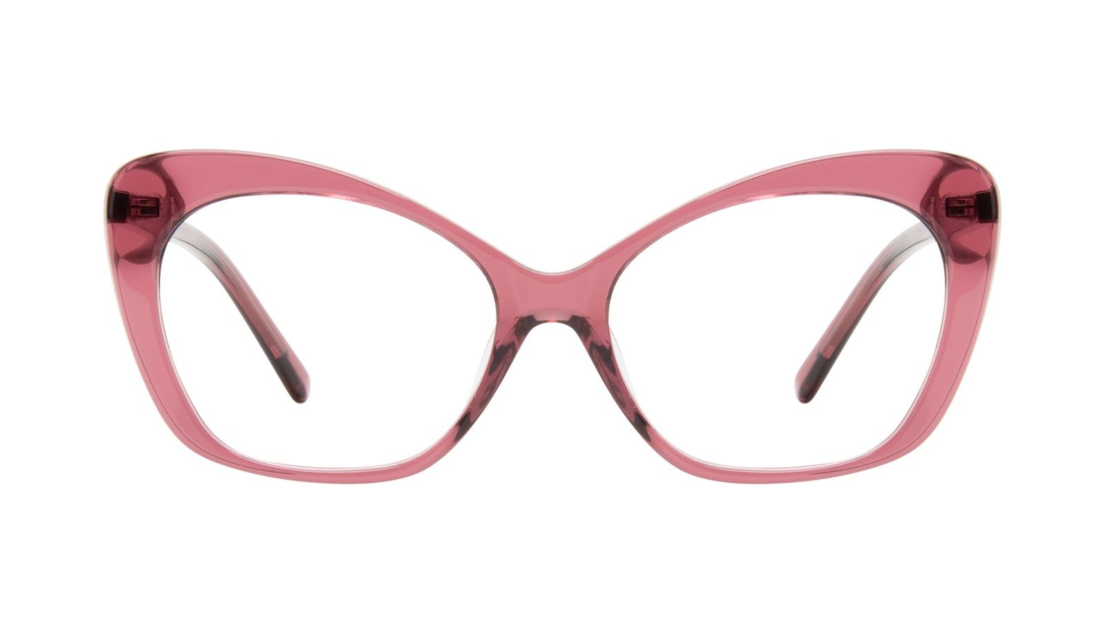 Affordable Fashion Glasses Cat Eye Eyeglasses Women Obvious Orchid