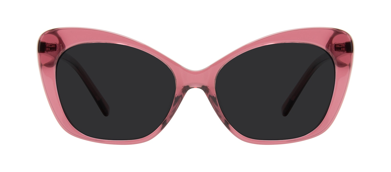 Affordable Fashion Glasses Cat Eye Sunglasses Women Obvious Orchid Front