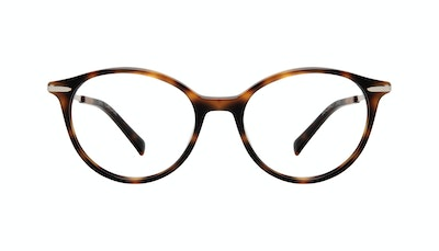 Affordable Fashion Glasses Round Eyeglasses Women One Tortoise Front