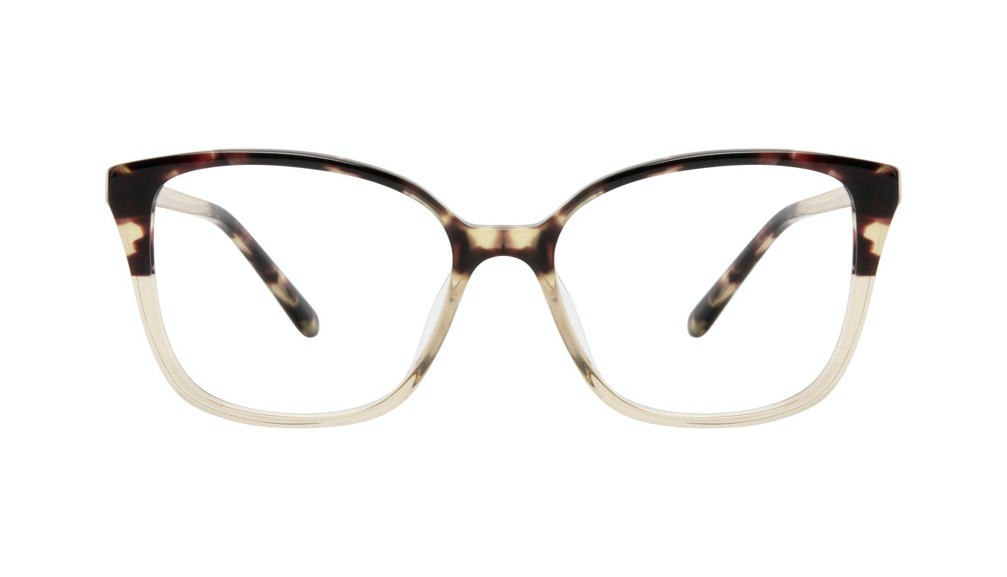 Affordable Fashion Glasses Square Eyeglasses Women Only Golden Tort Front
