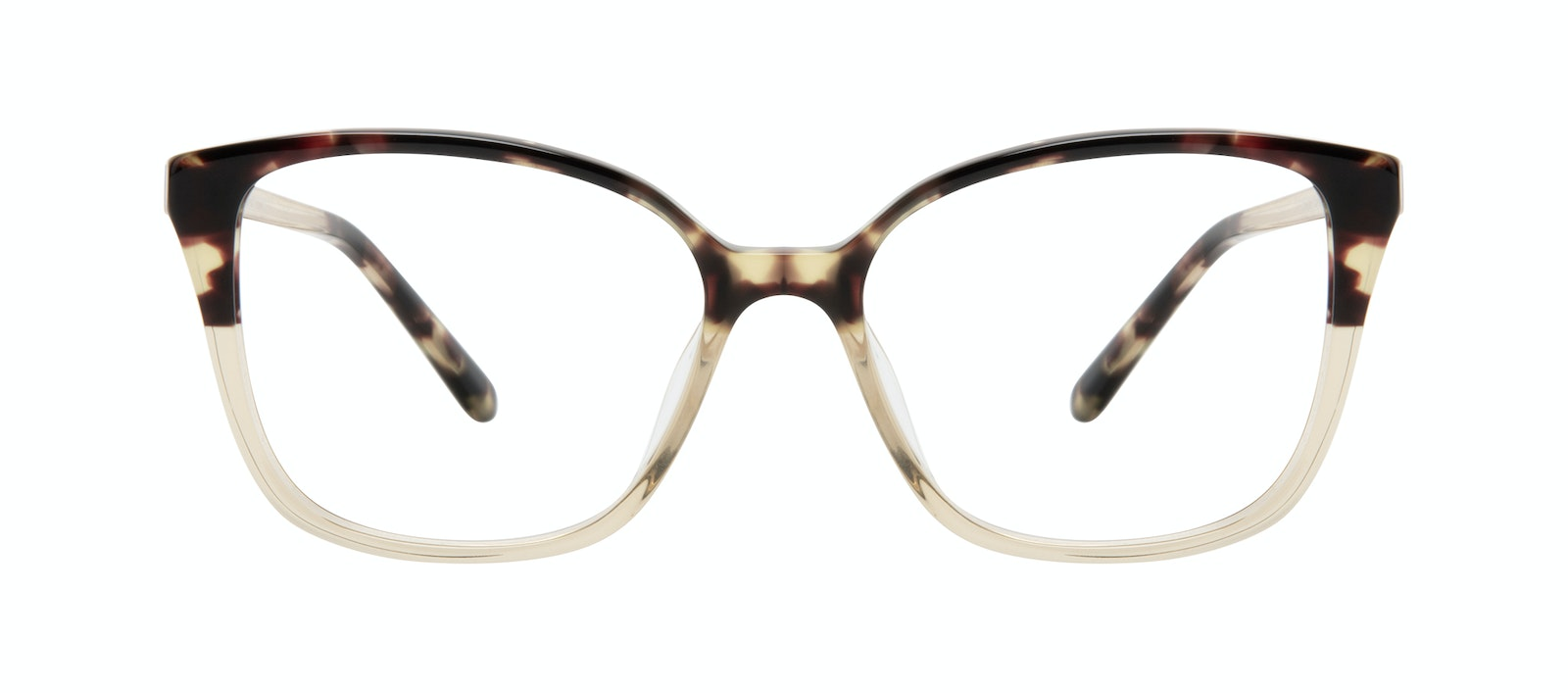 Affordable Fashion Glasses Square Eyeglasses Women Only Golden Tort Front
