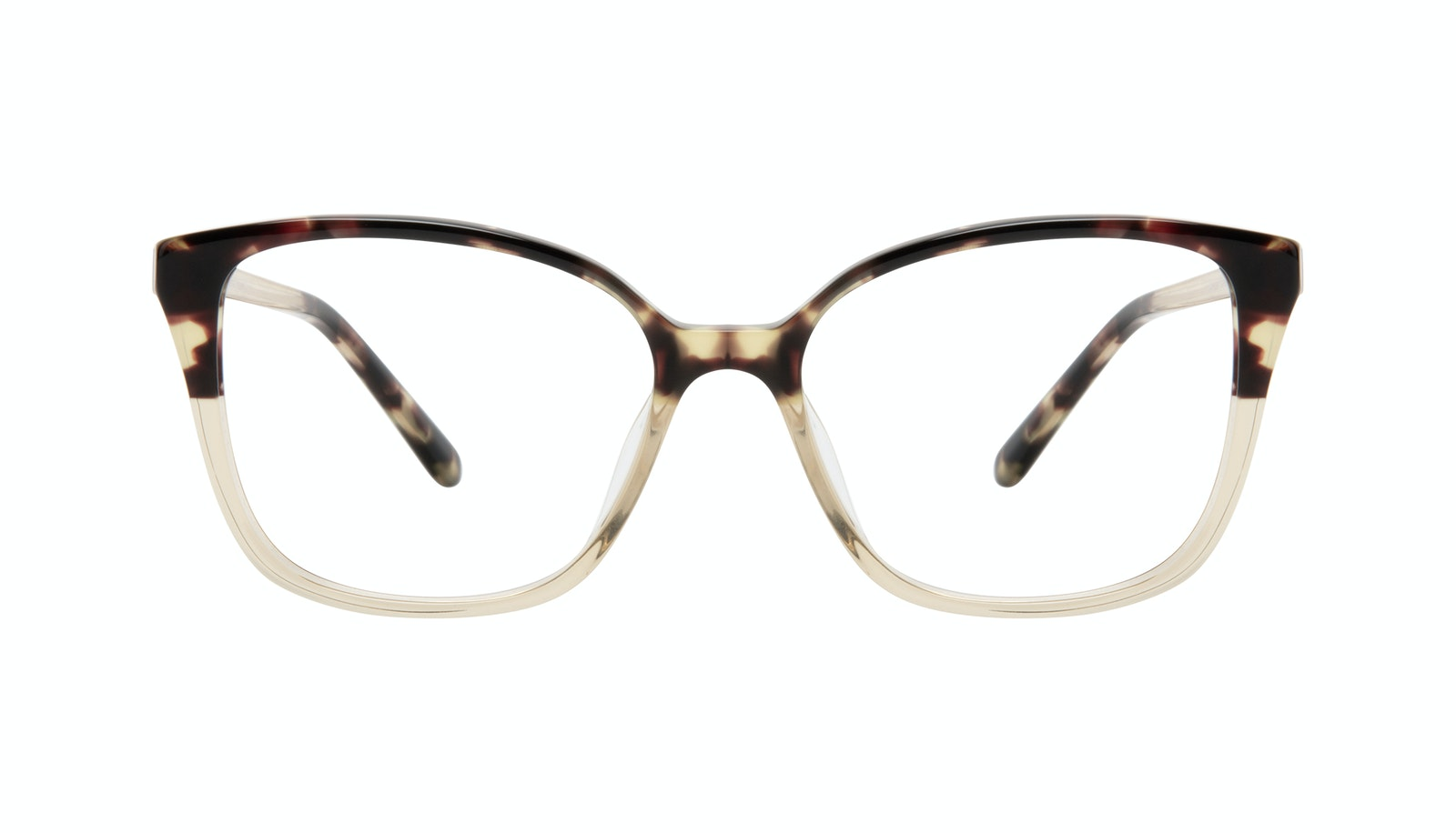 Affordable Fashion Glasses Square Eyeglasses Women Only Golden Tort