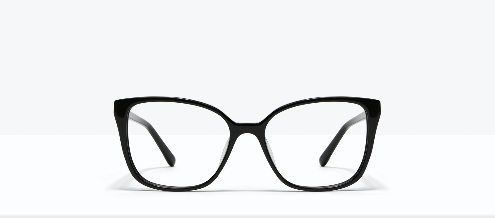 Affordable Fashion Glasses Square Eyeglasses Women Only Onyx Front