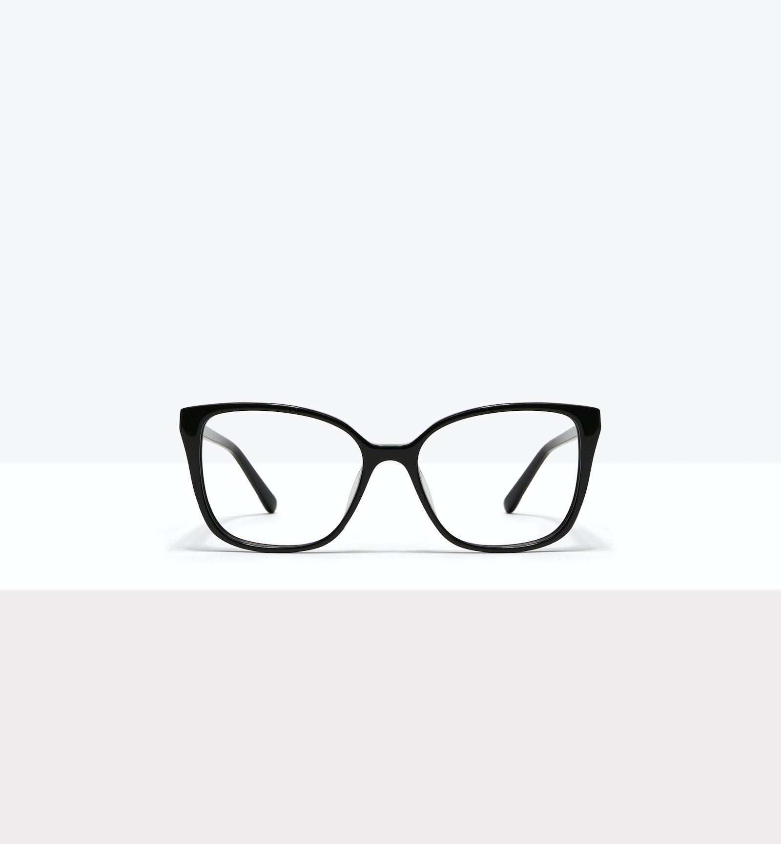 Affordable Fashion Glasses Square Eyeglasses Women Only Onyx