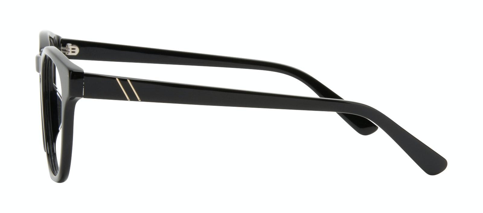 Affordable Fashion Glasses Square Eyeglasses Men Outline Black Tort Side