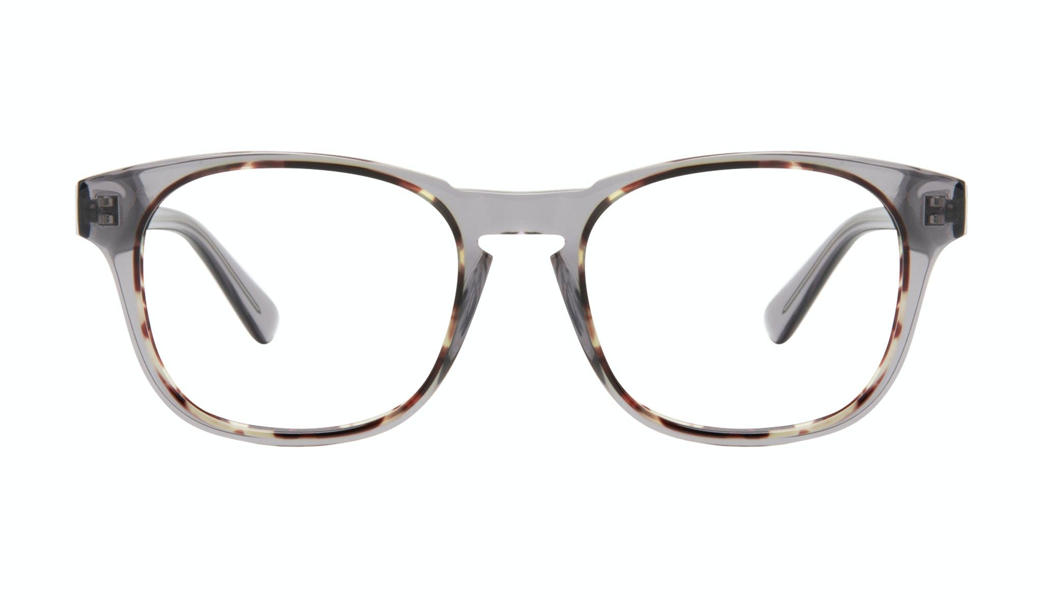 Affordable Fashion Glasses Square Eyeglasses Men Outline Smokey Tort Front