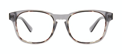 Affordable Fashion Glasses Square Eyeglasses Men Outline XL Smokey Tort Front