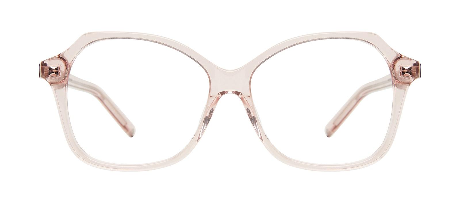 Lunettes tendance Carrée Lunettes de vue Femmes Outlook Pink Face