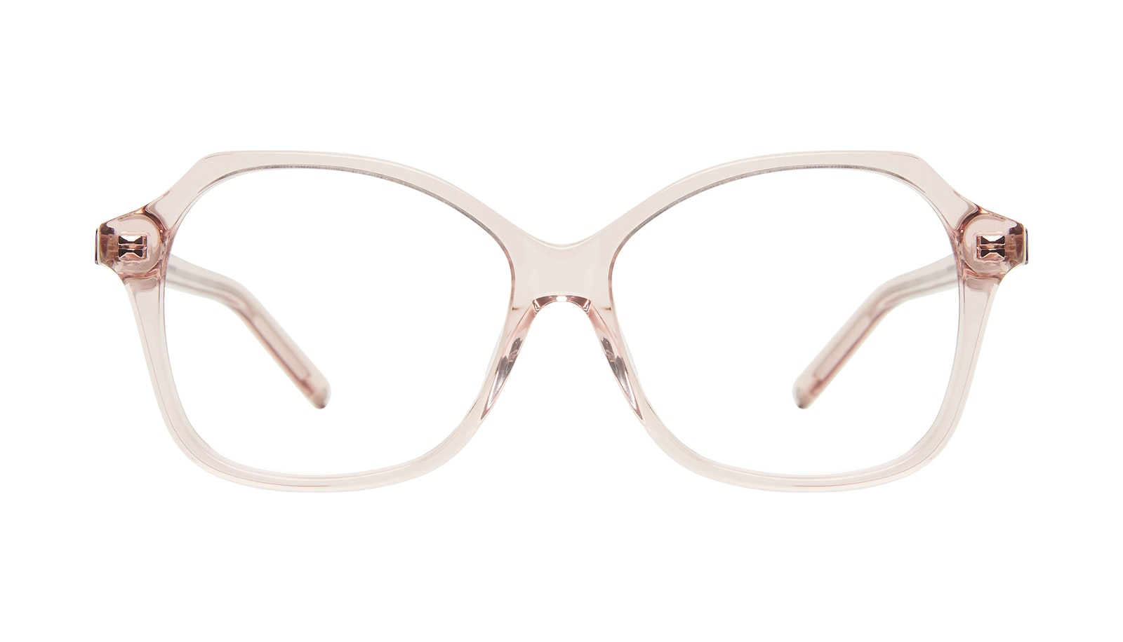 Affordable Fashion Glasses Square Eyeglasses Women Outlook Pink