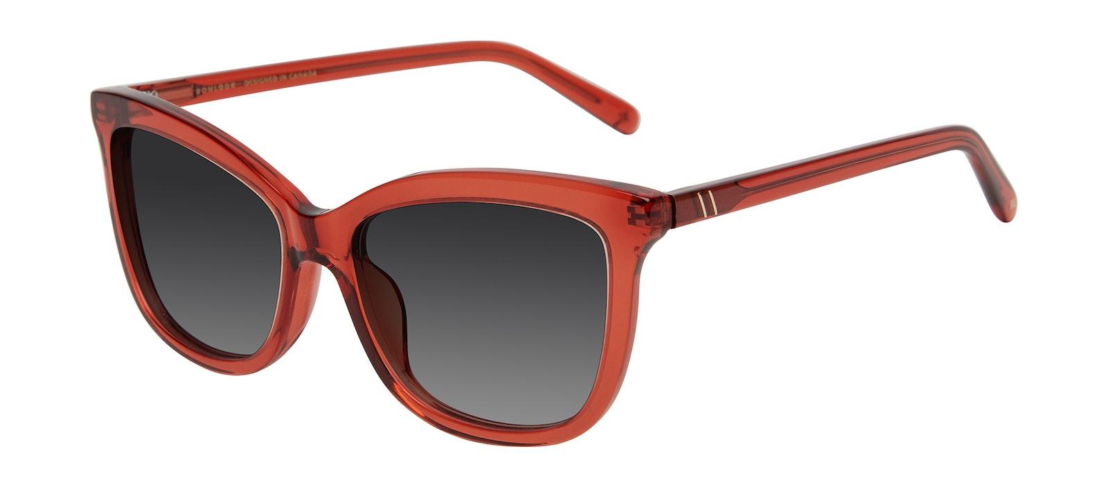 Affordable Fashion Glasses Cat Eye Sunglasses Women Paparazzi Brick Tilt