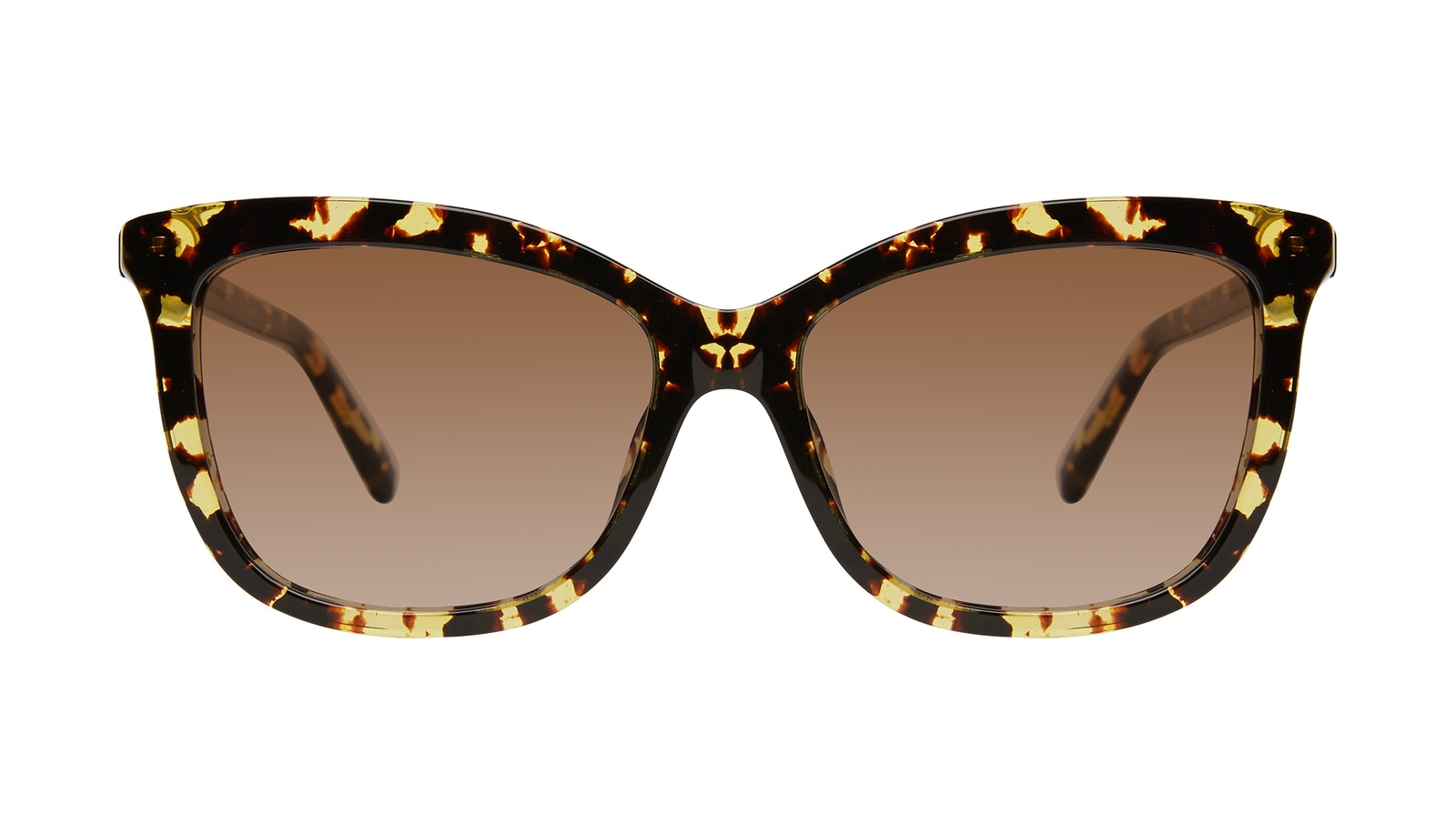 Affordable Fashion Glasses Cat Eye Sunglasses Women Paparazzi Gold Flake