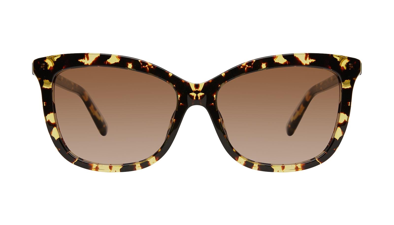 Lunettes tendance Oeil de chat Lunettes de soleil Femmes Paparazzi Gold Flake