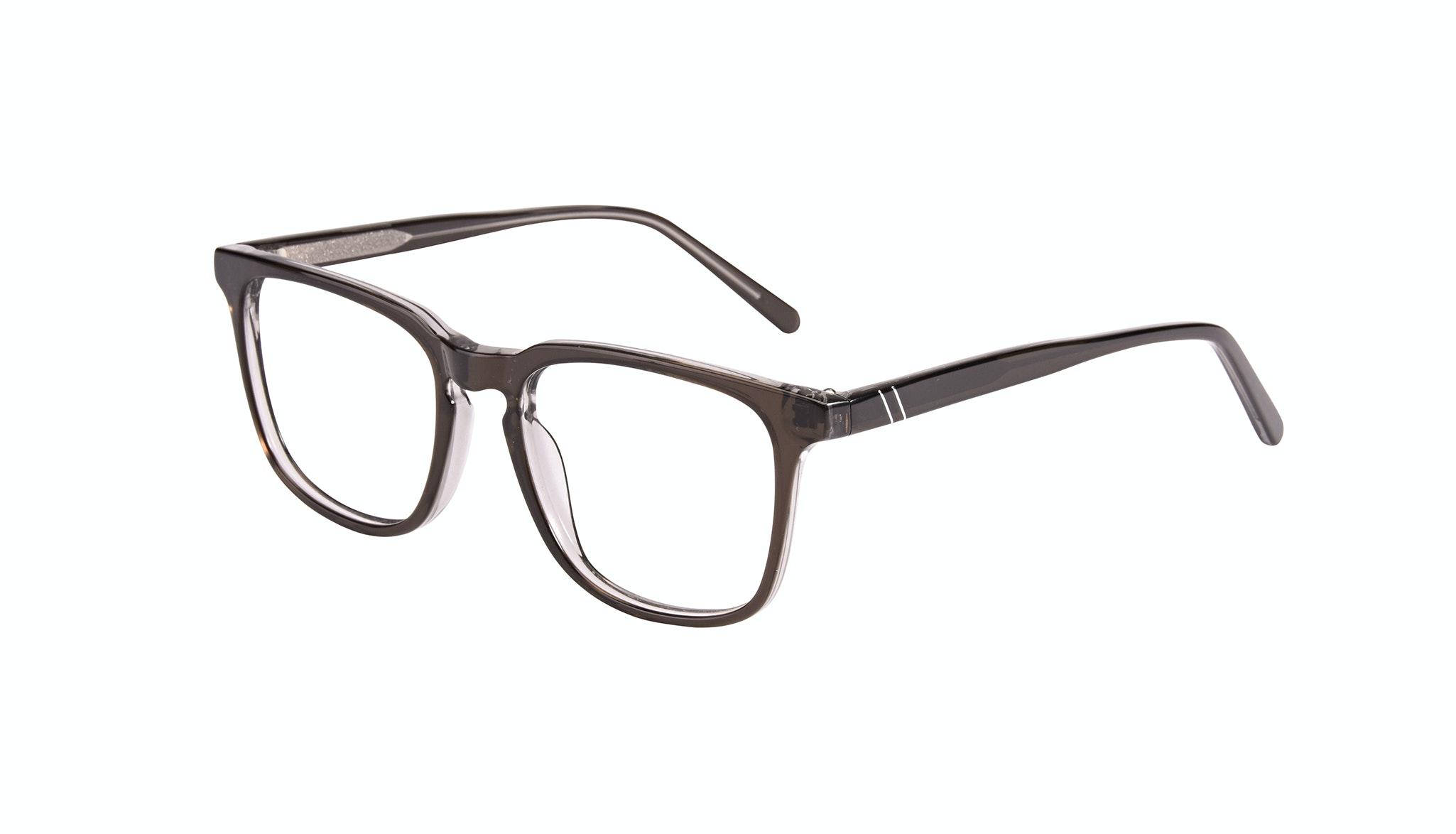 Affordable Fashion Glasses Rectangle Square Eyeglasses Men Peak Black Ice Tilt