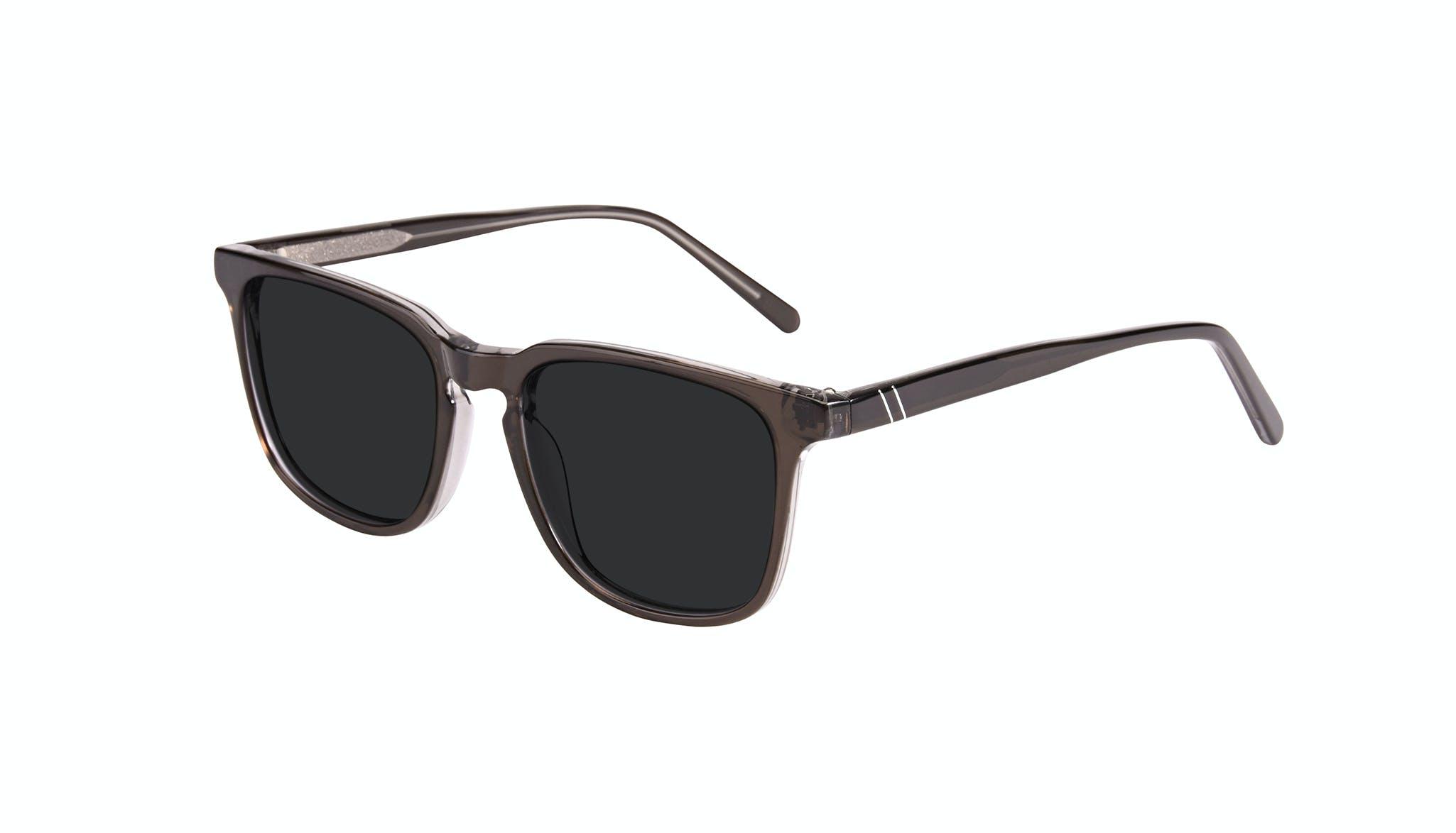 Affordable Fashion Glasses Rectangle Square Sunglasses Men Peak Black Ice Tilt