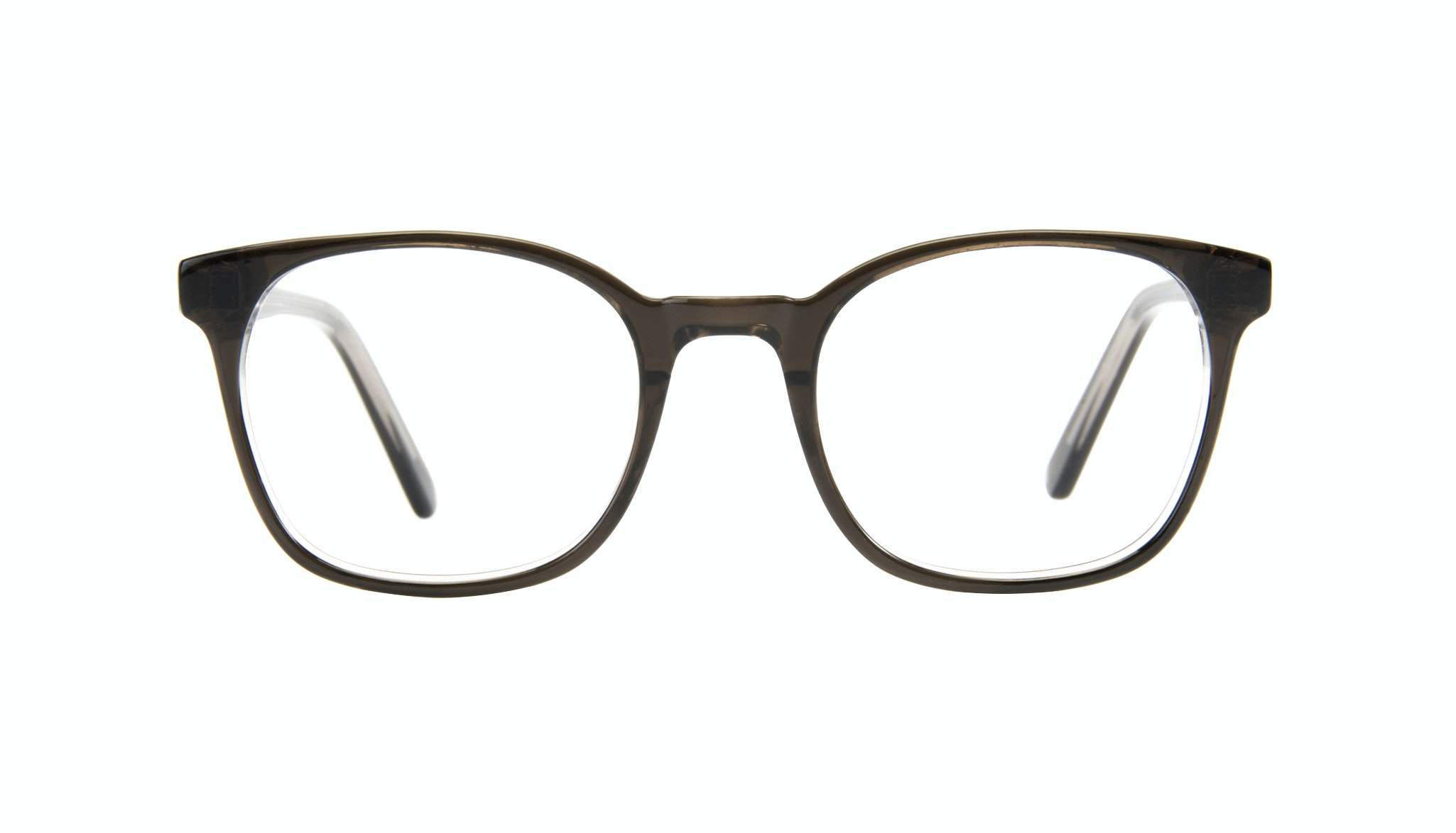 Affordable Fashion Glasses Rectangle Square Eyeglasses Men Peak Black Ice