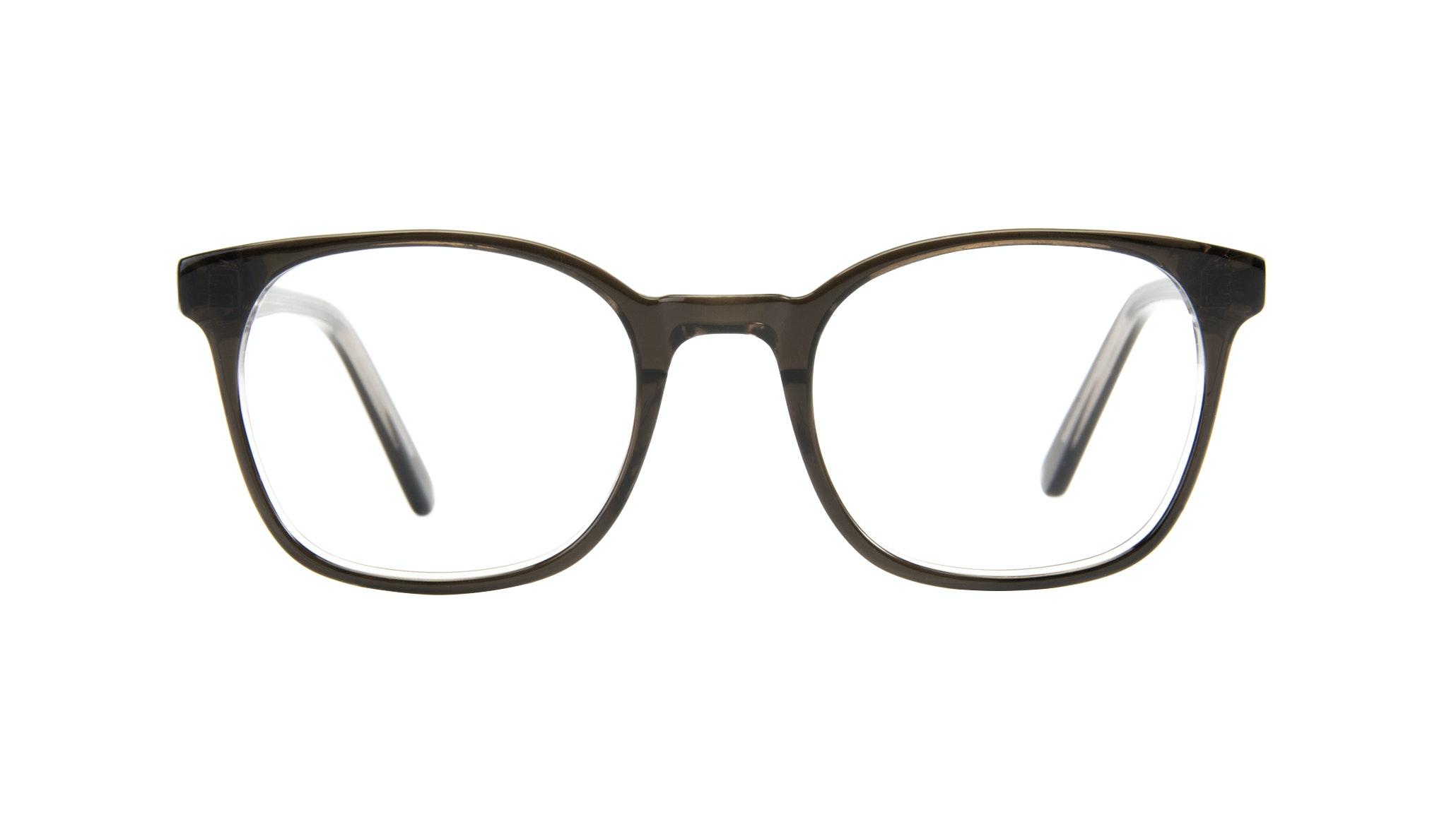 Affordable Fashion Glasses Rectangle Square Eyeglasses Men Peak Black Ice Front