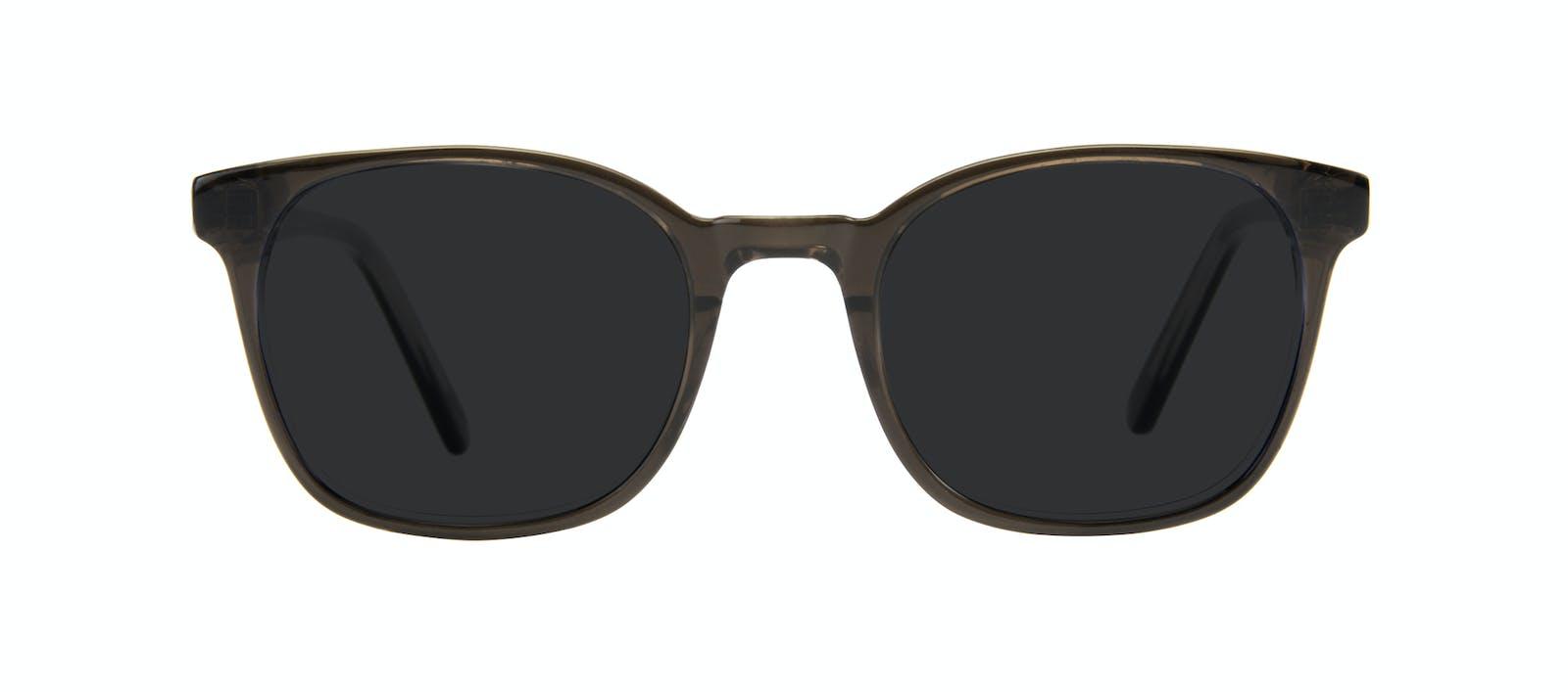 800dddc9b993 Affordable Fashion Glasses Rectangle Square Sunglasses Men Peak Black Ice  Front