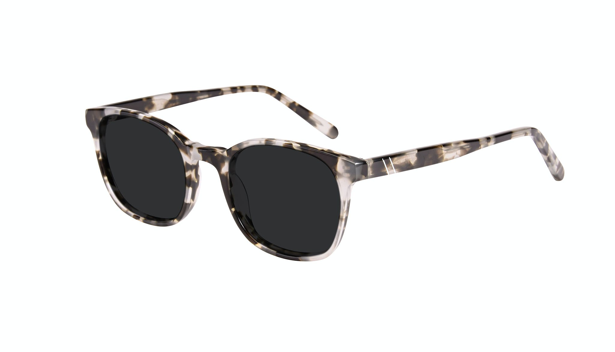 Affordable Fashion Glasses Rectangle Square Sunglasses Men Peak Camo Tort Tilt